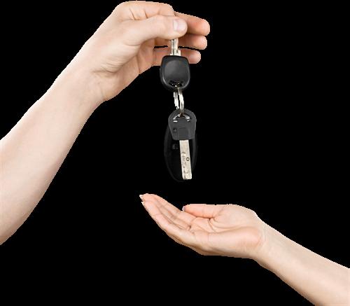 przekazanie auta z wypożyczalni