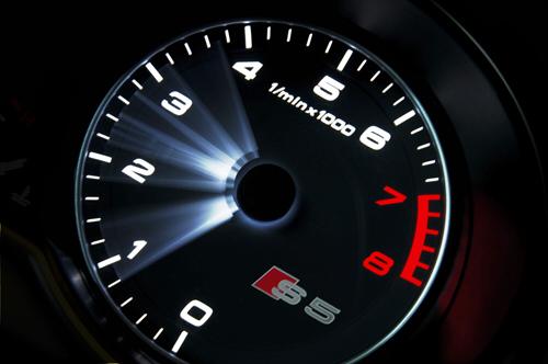 zegar samochodu